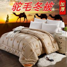 驼毛被 会销礼品 骆驼毛被 保暖加厚冬被子 养生磁疗驼绒被