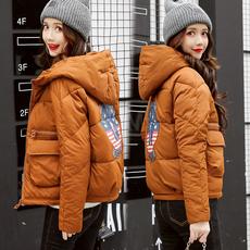 小棉衣女短款韩版潮流冬装新款2017时尚棉袄加厚保暖外套羽绒棉服