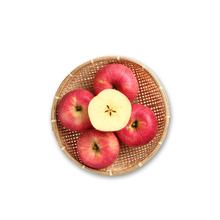 旬邑苹果陕西高原红富士 新鲜红富士苹果 70-75果径 5斤包邮