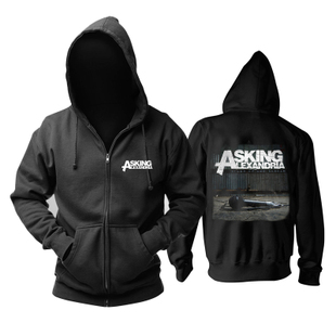 英国Asking Alexandria Stand Up And Scream专辑后硬核金属卫衣