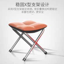 凳折叠凳 DINGLE 住宅家具坐具类凳子可拆洗折叠椅搁脚凳换鞋