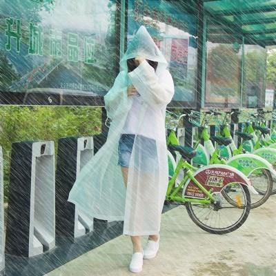 一次性雨衣成人儿童户外旅行漂流徒步迪士尼长隆水上乐园激流勇进图片