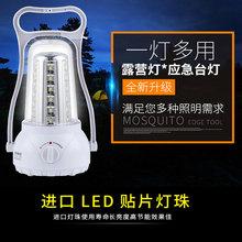康铭照明灯家用超亮充电马灯手提户外强光照明应急露营灯照明两用