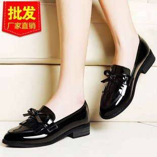 2017 autumn new single shoes women's shoes casual shallow m