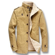 Fashion Slim Fit Plus Size Jackets Outwear Parkas Jacket for Fall and Winter