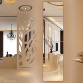 镜子全身贴墙客厅简约壁挂卧室经济型学生镜片悬挂欧式玻璃家用