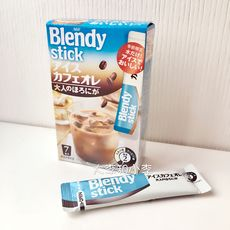 现货 日本AGF Blendy Stick夏季限定 深煎香浓牛奶冰咖啡 盒装7支