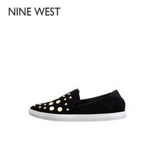Nine West/玖熙小羊皮休闲平跟单鞋-301037788S
