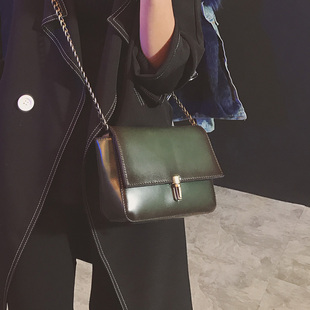 【直供】2016新款女包韩版复古百搭链条包单肩小包包小方包斜挎包