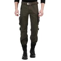 迷彩多口袋个性 男女长裤 户外野战军迷服饰登山男军裤 战术工装