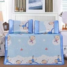 藤席 草席 卡卡通三件套水上下床定制凉席凉席 竹席 牛皮席折叠式