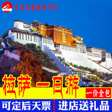 西藏拉萨旅游布达拉宫大昭寺一日游文成公主门票景点预约1日旅行
