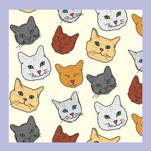 动物图案丝巾图片