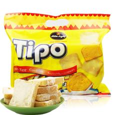正宗越南进口面包干Tipo300g 袋包邮鸡蛋牛奶tipo面包干零食小吃