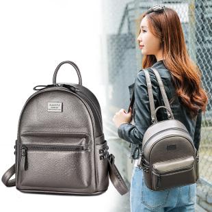 Classiple休闲双肩包女包包潮新款中女包韩版学院风2016铆钉背包