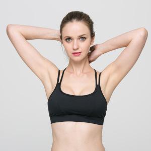 欧美女士美背防震聚拢专业运动内衣 瑜伽健身跑步无钢圈运动文胸