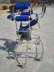 成人学步车老人助行器带轮站立架脑梗偏瘫下肢康复训练器材防后仰