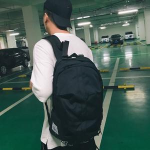 双肩包男韩版ulzzang 日系街头潮流大容量旅行背包女高大学生书包