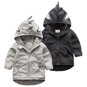 恐龙男童外套 儿童长袖拉链衫2016新款春秋童装秋季 宝宝纯色上衣女童外套