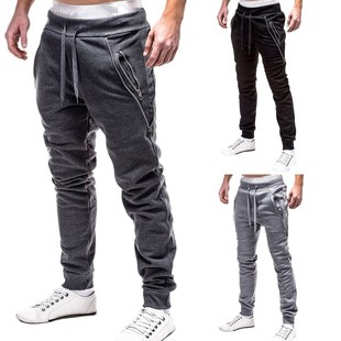 2018 New hot Fashion Brand Men's Pants Slim Casual Joggers男