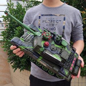 儿童<span class=H>遥控</span><span class=H>坦克</span><span class=H>玩具</span>大炮 履带式电动男孩超大号对战充电越野汽车