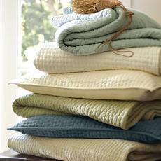 空调被全棉床罩夹棉手工绗缝被床盖三件套纯棉套件夏凉被床上用品
