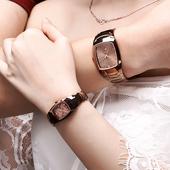 男士钨钢手表女士表时尚潮流休闲伯瑞仕防水腕表复古情侣款一对表