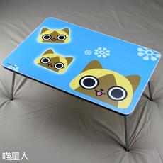 小桌子笔记本电脑桌床上用懒人床可折叠书桌大学生宿舍学习桌卡通