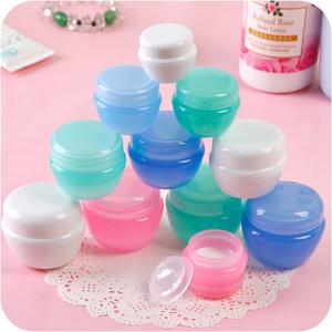 旅行便携式化妆品分装瓶乳液瓶面霜分装盒塑料空瓶子试用装小样瓶化妆品分装盒