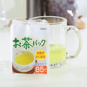 日本进口茶包袋空茶包一次性泡茶袋过滤茶叶包 花草茶卤味袋85枚茶包袋