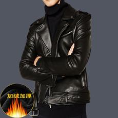 天天特价皮衣男士机车服皮夹克修身青年冬季加绒加厚韩版男外套潮