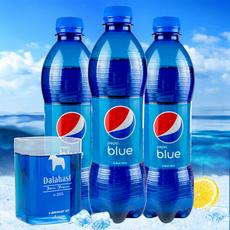 巴厘岛进口蓝色百事可乐450ml*5瓶饮料海水蓝网红可乐梅子味