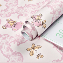 饰防水防潮卡通学生宿舍粉色壁纸 背景墙纸自粘卧室温馨女孩房间装