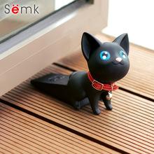 饰品门塞防撞防风门阻 semk森科门挡摆件创意可爱卡通小猫咪家居装