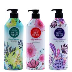 韩国进口正品 爱敬香水洗发水护发素套装 持久留香无硅油花香男女