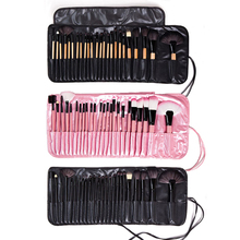 24 makeup brush set a full range of colour makeup tools combination beginners eye shadow brush black pink makeup brushes of 32