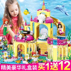 兼容乐高积木好朋友女孩系列益智拼装玩具冰雪奇缘公主城堡房子