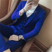 新款矮小个子小号小版伴郎西服套装纯色中性帅男装XS号西服