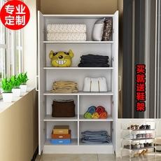 现代简约阳台柜子2门衣柜经济型多功能定制定做防晒收纳柜储物柜