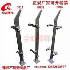 不锈钢玻璃楼梯扶手栏杆不锈钢立柱楼梯阳台栏杆扶手单刀片立柱