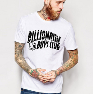 BillionaireBoysClub t-shirt Men HipHop Cotton tshirt Man Top