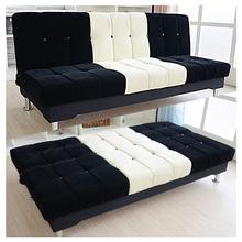 小户型沙发单人床简约可折叠沙发床简易沙发布艺沙发客厅宿舍沙发