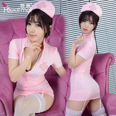 霏慕成人情趣内衣女角色扮演服性感深V制服极度诱惑护士套装 包邮