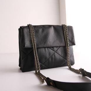 链条包小包包女2016新款潮韩版女包软皮菱格百搭小方包单肩斜挎包