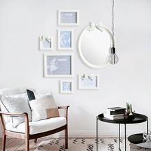 米子家居 客厅创意照片墙卧室相框欧式婚纱挂墙组合画 相框墙