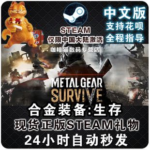 PC 中文 Steam 合金装备 生存 幸存 Metal Gear Survive 多人联机
