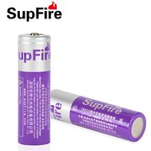 upFire 神火强光手电筒专用18650锂电池 带保护板充电式3.7V尖头