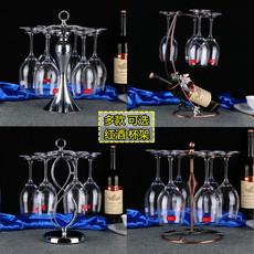创意红酒架酒柜摆件家用高脚杯架倒挂红酒杯架欧式悬挂葡萄酒架子