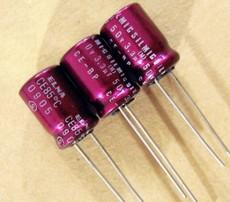 ELNA 紫红袍 SILMIC CE-BP(RBS)3.3uF/50V音频用无极性电解电容