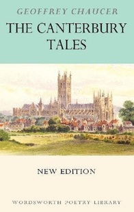 坎特伯雷故事集 英文原版 The Canterbury Tales Wordsworth Poetry Library Geoffrey Chaucer 故事诗歌